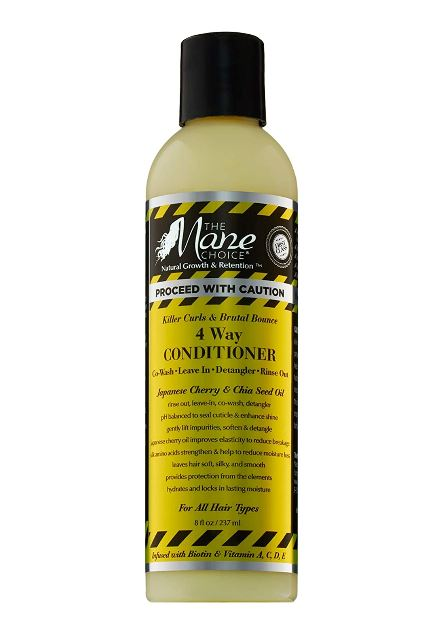 The Mane Choice PROCEED WITH CAUTION 4 WAY CONDITIONER 237ml - My Hair World