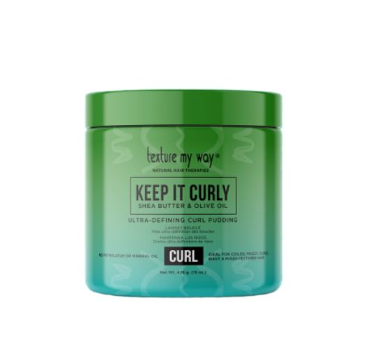 Texture My Way Keep It Curly Ultra Defining Curly Pudding 426g - My Hair World