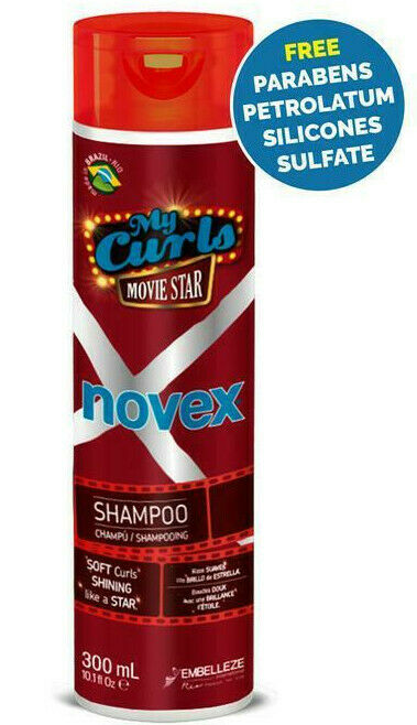 NOVEX My Curls Movie Star Sulfate Free Shampoo 300ml - My Hair World