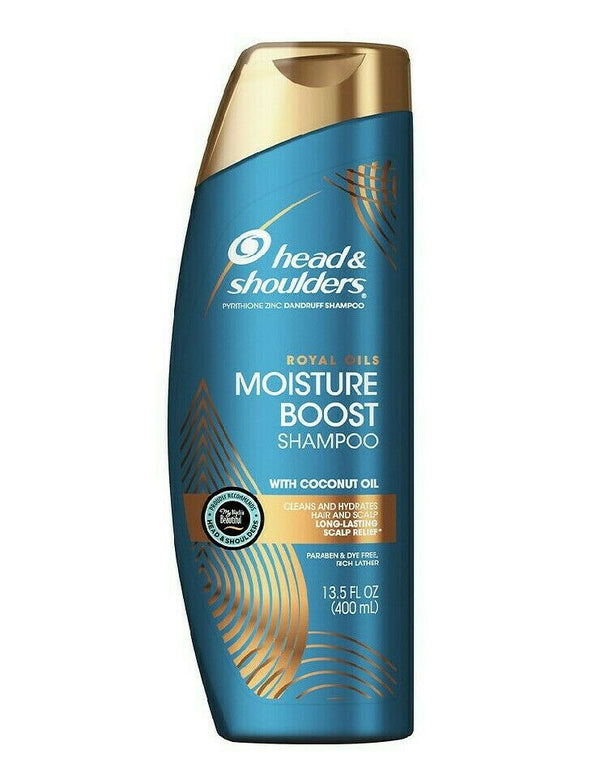 Head & Shoulders Royal Oils Moisture Boost Shampoo 400ml - My Hair World