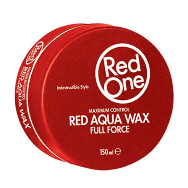 Red One Hair Wax Red Aqua Full Force Hair Styling Wax 150ml - My Hair World