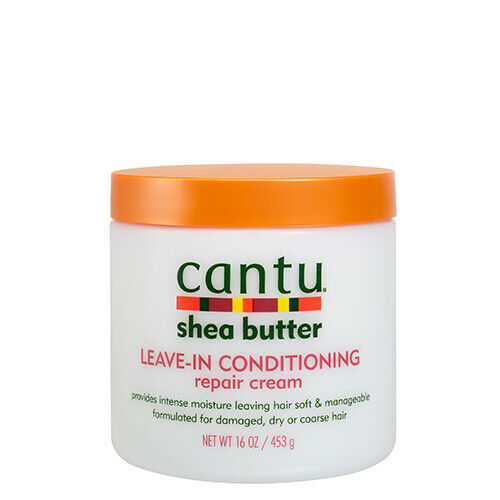 Cantu Shea Butter Leave-In Conditioning Repair Cream 453g - My Hair World