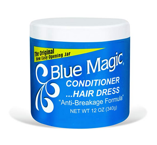 Blue Magic Conditioner Hair Dress (Blue) Anti Breakage 12oz 340g - My Hair World