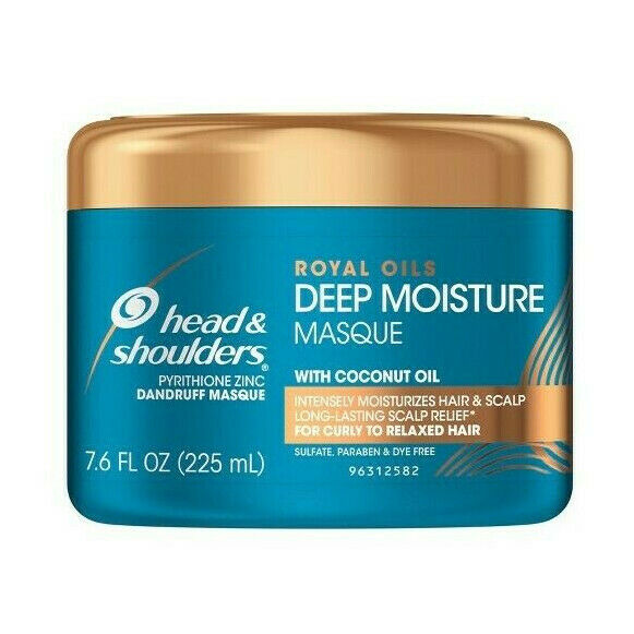 Head & Shoulders Royal Oils Deep Moisture Masque 225ml - My Hair World