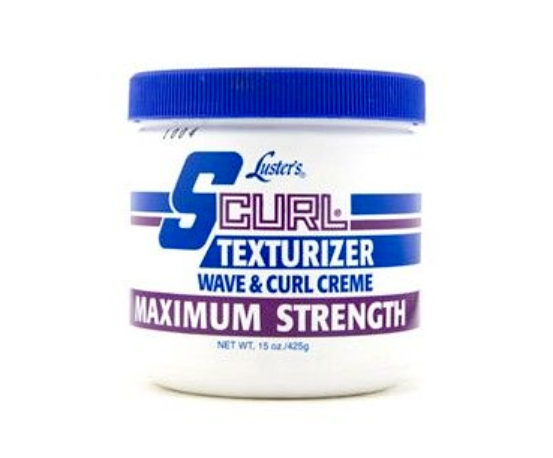 Luster´s S Curl Texturizer Wave & Curl Creme Maximum Strength 425g 15oz - My Hair World