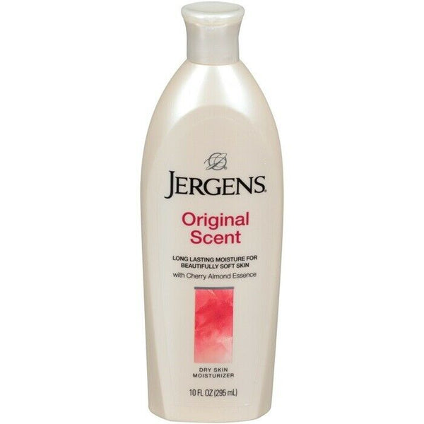 Jergens Original Scent Dry Skin Moisturizing Cherry Almond Lotion 369ml 10oz - My Hair World