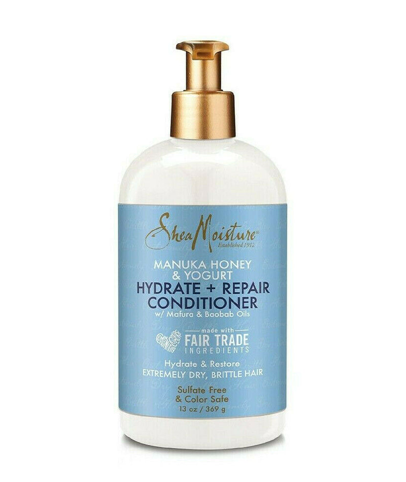 Shea Moisture Manuka Honey & Yogurt Hydrate + Repair Conditioner 384ml 13oz - My Hair World