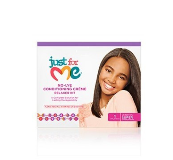 Just for Me No Lye Conditioning Creme Relaxer Kit Super - My Hair World