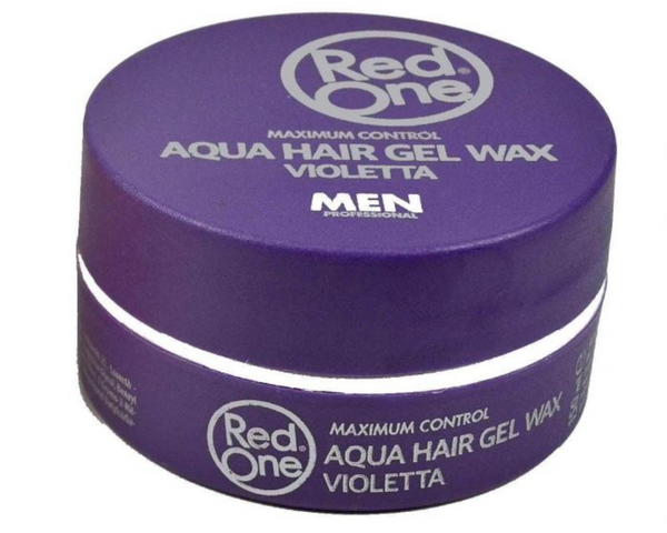 Red One Aqua Hair Wax Maximum Control Wax Violetta 150ml - My Hair World