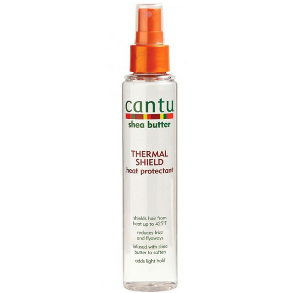 Cantu Shea Butter Thermal Shield Heat Protectant  150ml 5.1oz - My Hair World