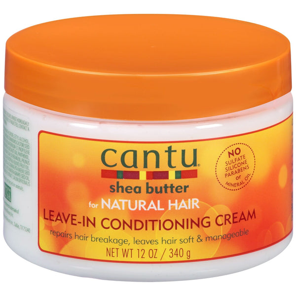 Cantu Shea Butter Natural Hair Leave In Conditioning Cream 340g - My Hair World