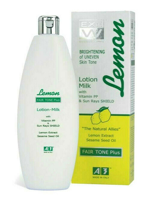 A3 Lemon Lotion Milk Brightening Of Uneven Skin Tone 400ml - My Hair World