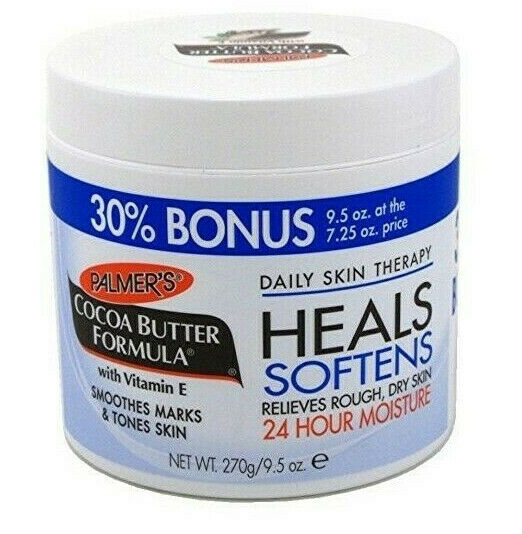 Palmer's Cocoa Butter Formula Daily Skin Therapy Jar 270g 9.5oz 30% Bonus - My Hair World
