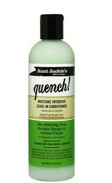 Aunt Jackie's Quench Leave-In Conditioner 12oz 355ml - My Hair World