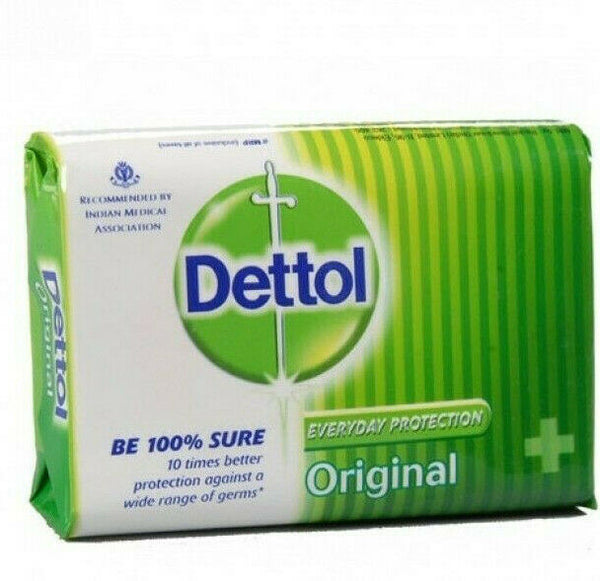 Dettol Orginal Antiseptic Soap 90g - Dettol Anti-Bakterielle Seife - My Hair World