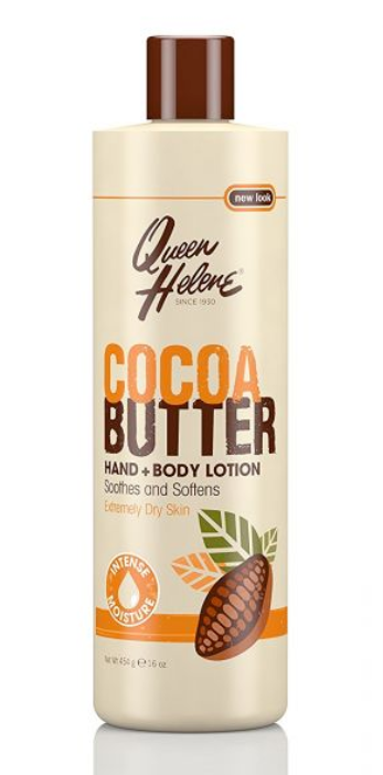 Queen Helene Cocoa Butter Hand and Body Lotion 453g 16oz - My Hair World