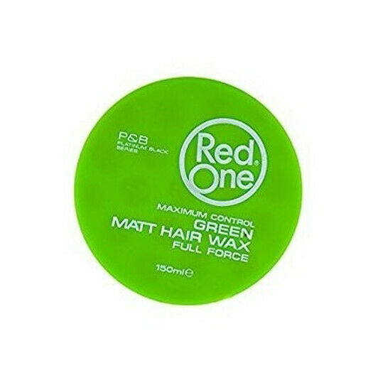 Red One Green Wax Maximum Control Matt Hair Wax Full Force 150ml Haarwachs - My Hair World