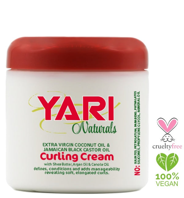 Yari Naturals Curling Cream with Jamaican Black Castor Oil 454g - My Hair World