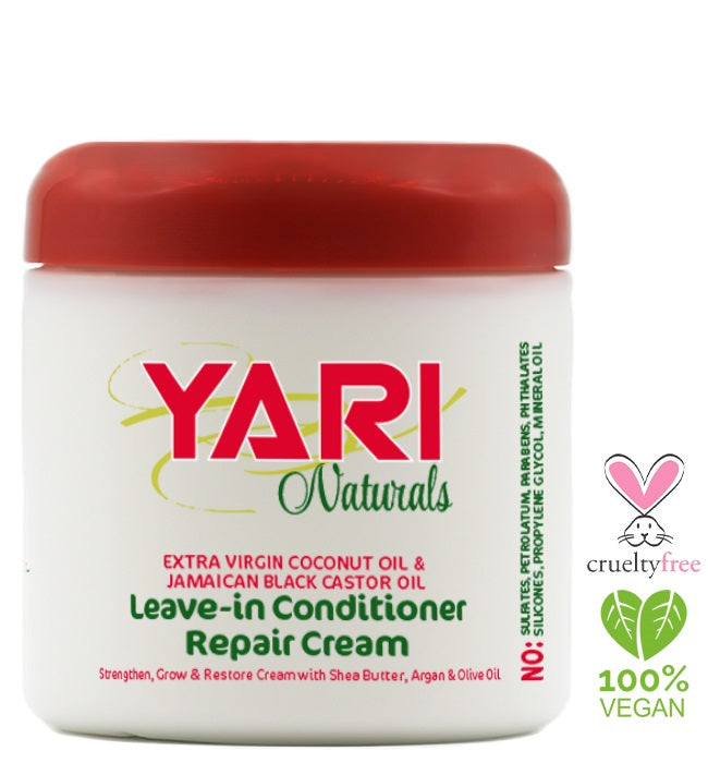 Yari Naturals Extra Virgin Coconut Leave in Repair Conditioner 340g - My Hair World