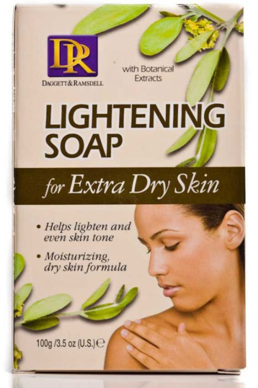 D&R Lightening Facial Soap 100g - My Hair World