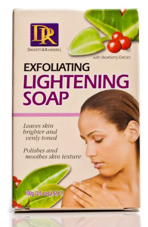 D&R Moisturizing Lightening Soap 100g - My Hair World