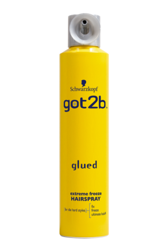 Schwarzkopf Got2b Glued Freeze Spray 300ml - My Hair World