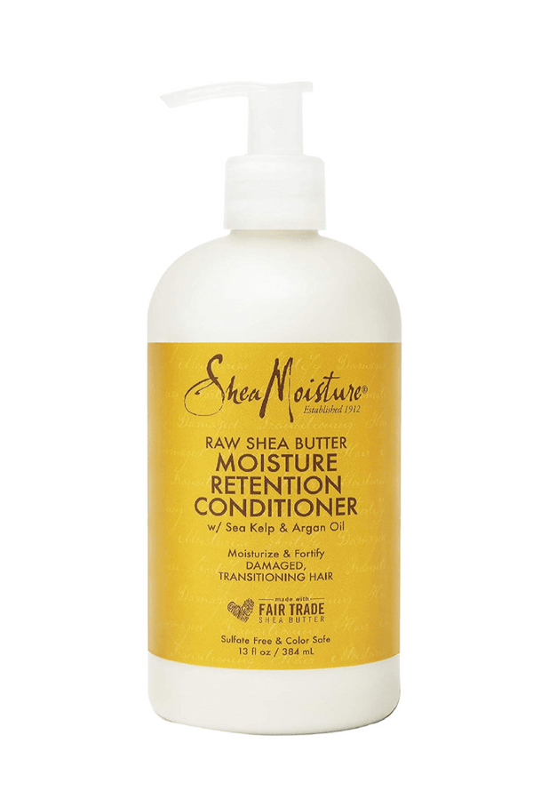 Shea Moisture Raw Shea Butter Moisture Retention Conditioner Dry, Damaged Hair 384ml - My Hair World