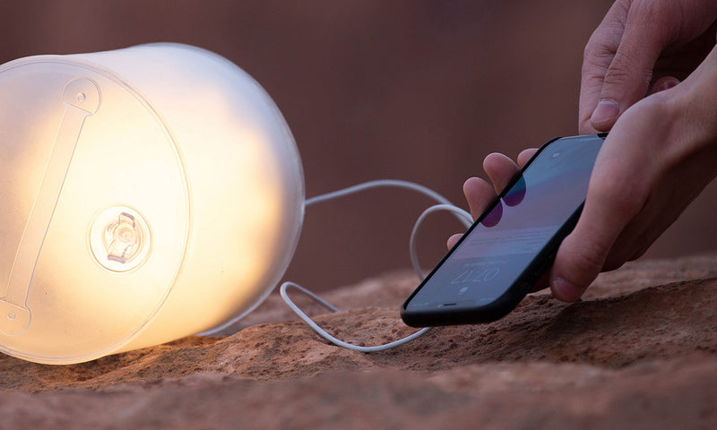 Lampe Solaire + Chargeur mobile | Luci