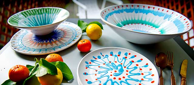 Set de 3 Assiettes L'art de la table | Unopiu'