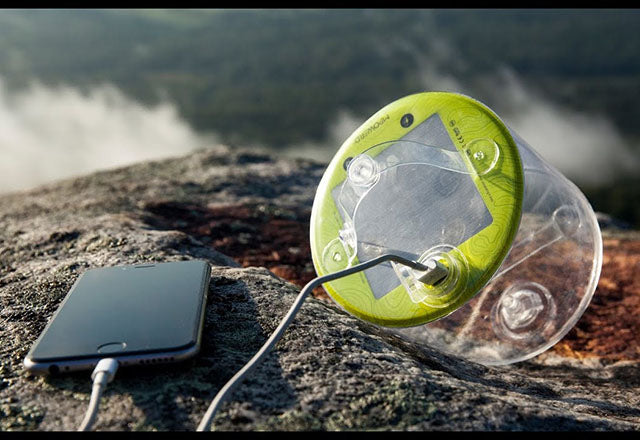 Lampe Solaire chargeur mobile Outdoor 2.0 PRO | Luci