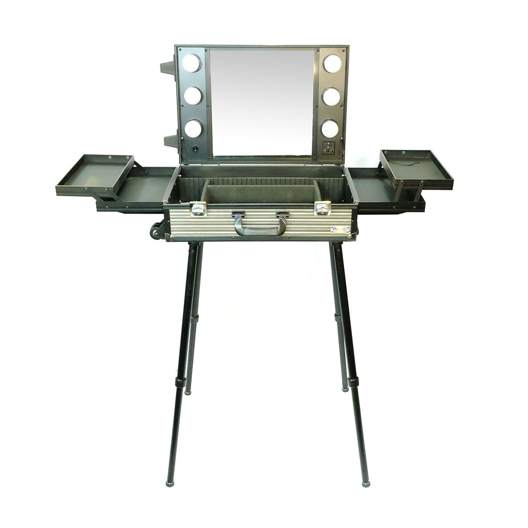 DB9660K Small Portable Makeup Station with Legs