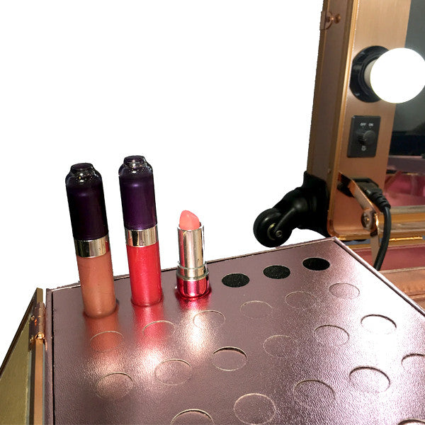 BB161 Mobile Makeup Station with LED Lights