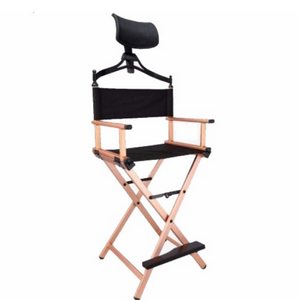 DC700 Aluminum Director Chair with Headrest