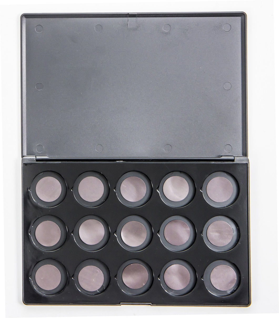 15-Hole PVC Empty Magnetic Palette