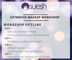 Extensive Makeup Workshop