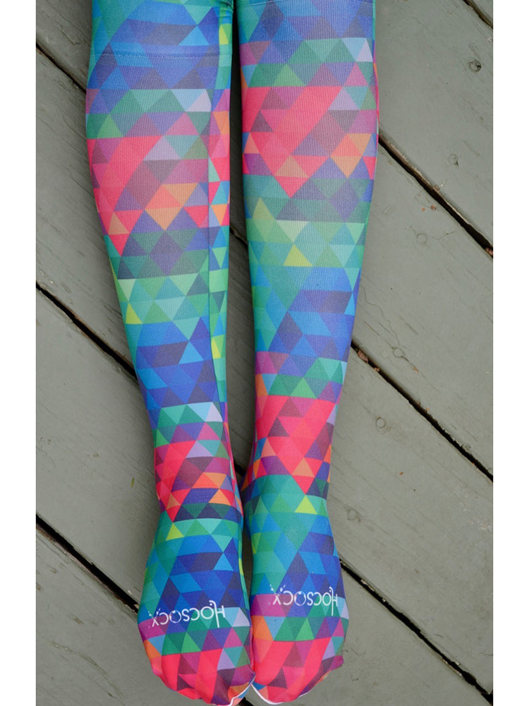 Dark Kaleidoscope Socks