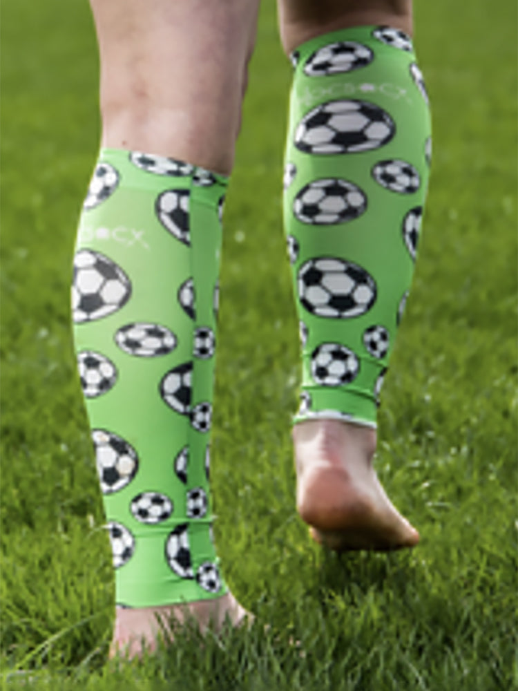 Lime Football - Leg Sleeve