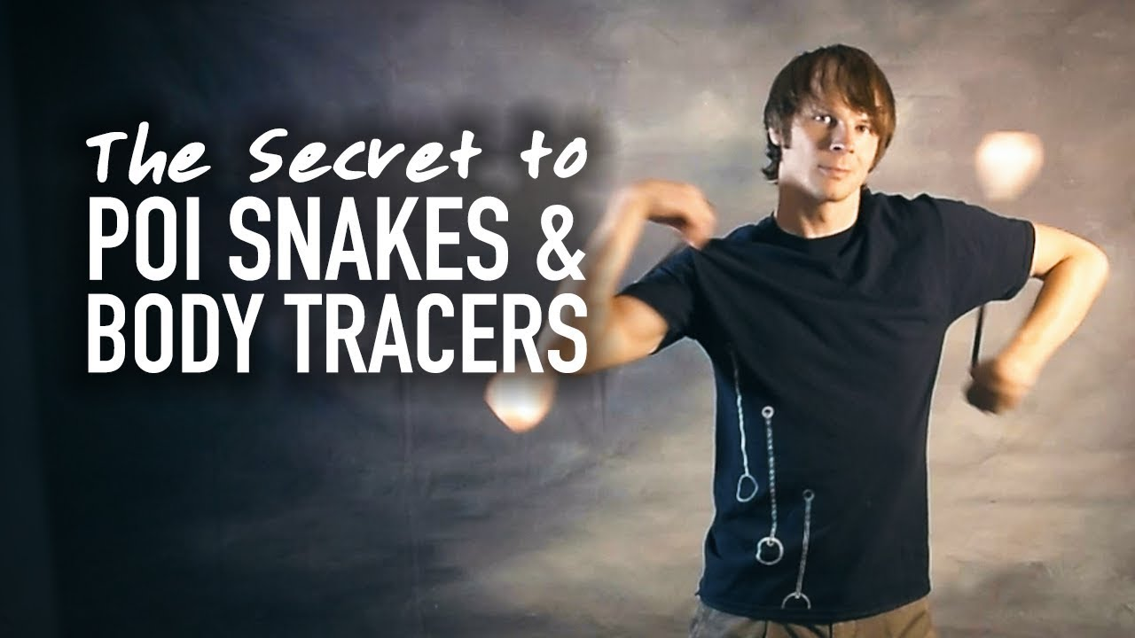 Poi Snakes and Body Tracers
