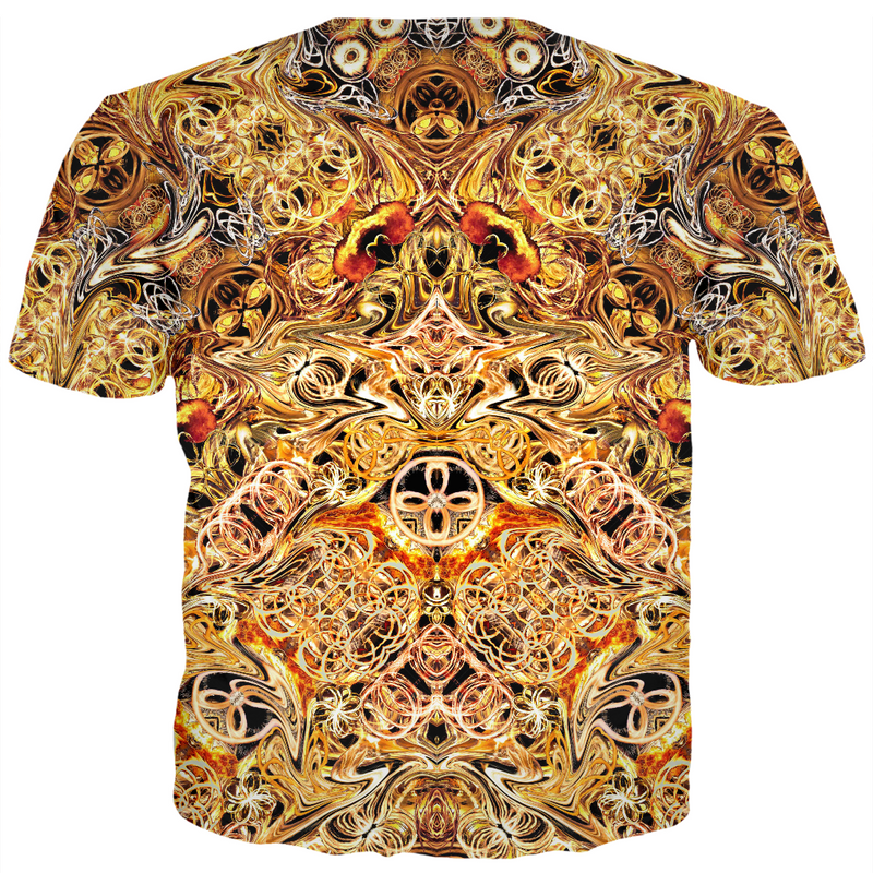 FIRE ARTIST MEN'S T-SHIRT