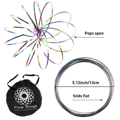 Flow Rings - Kinetic Spinner Toy