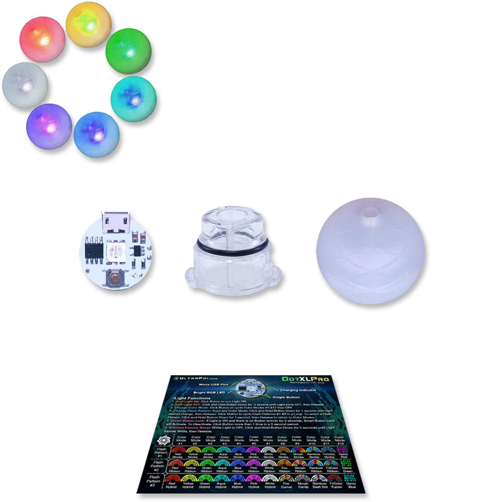 UltraKnob Pro LED Handle (Individual)