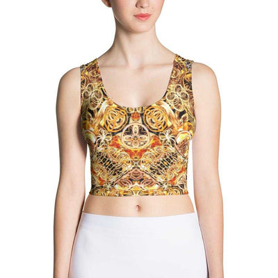 Fire Artist Women's Yoga Crop Top