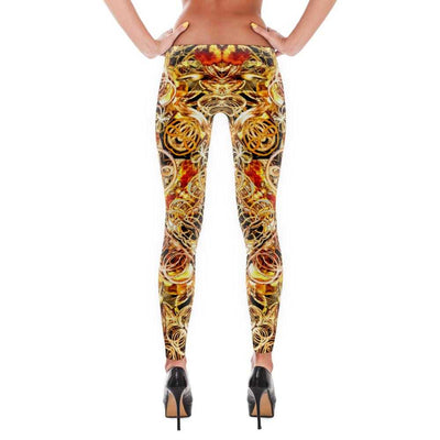 www.ultrapoi.com XS Fire Artist Women's Yoga Leggings