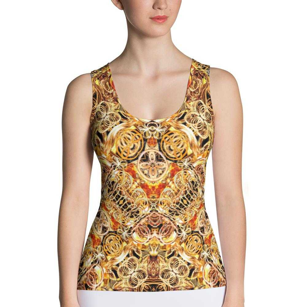 Fire Artist Women's Yoga Tank Top | www.ultrapoi.com