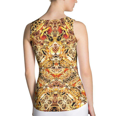 www.ultrapoi.com XS Fire Artist Women's Yoga Tank Top