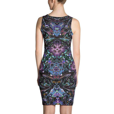 www.ultrapoi.com XS Glove Artist Women's Fitted Dress