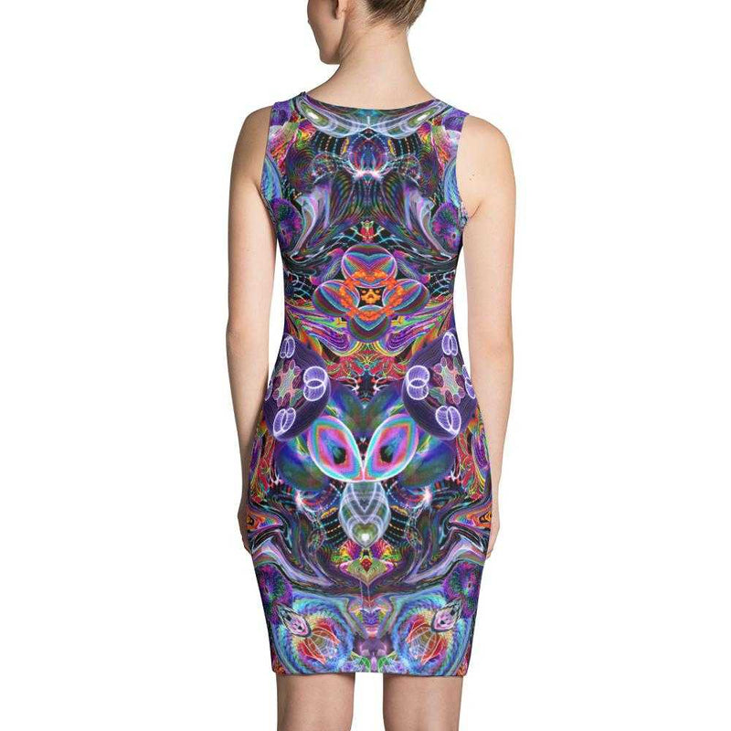 www.ultrapoi.com XS Hoop Artist Women's Fitted Dress