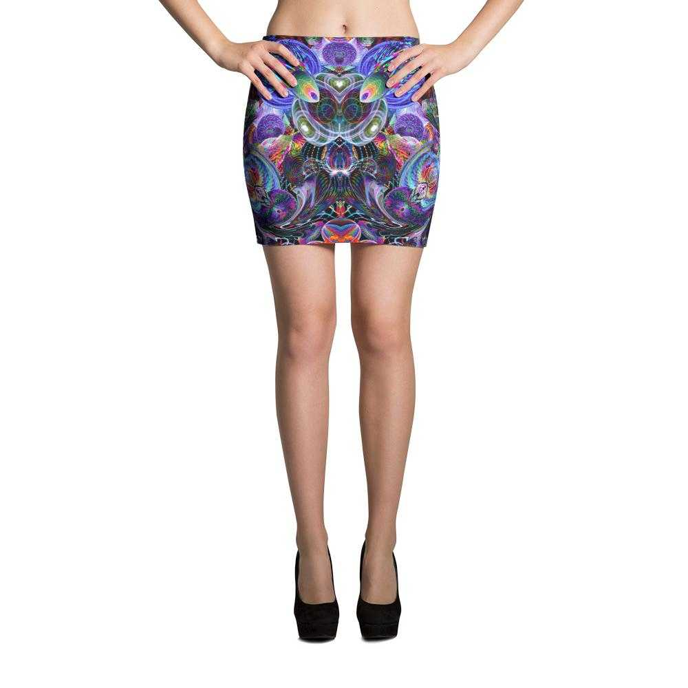 Hoop Artist Women's Fitted Mini Skirts