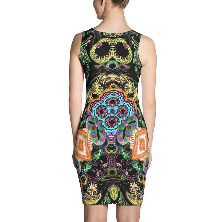 Orbit Artist Women's Fitted Dress