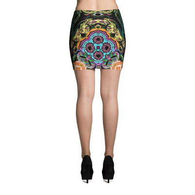 www.ultrapoi.com XS Orbit Artist Women's Fitted Mini Skirts